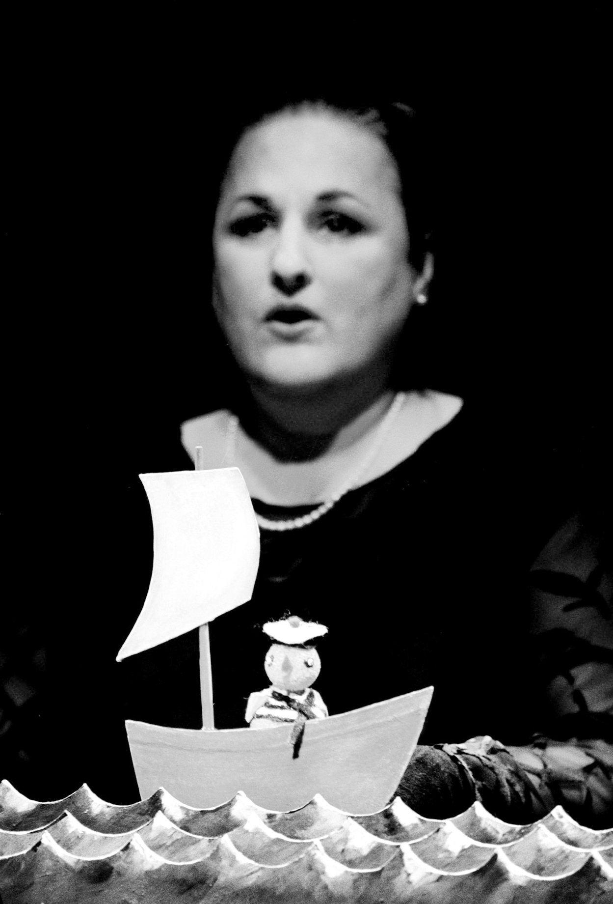 Susan J. Vitucci in Love's Fowl photo: Sarah Krulwich, New York Times