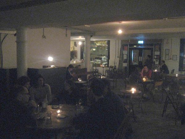 Cafe OTO, London, UK.