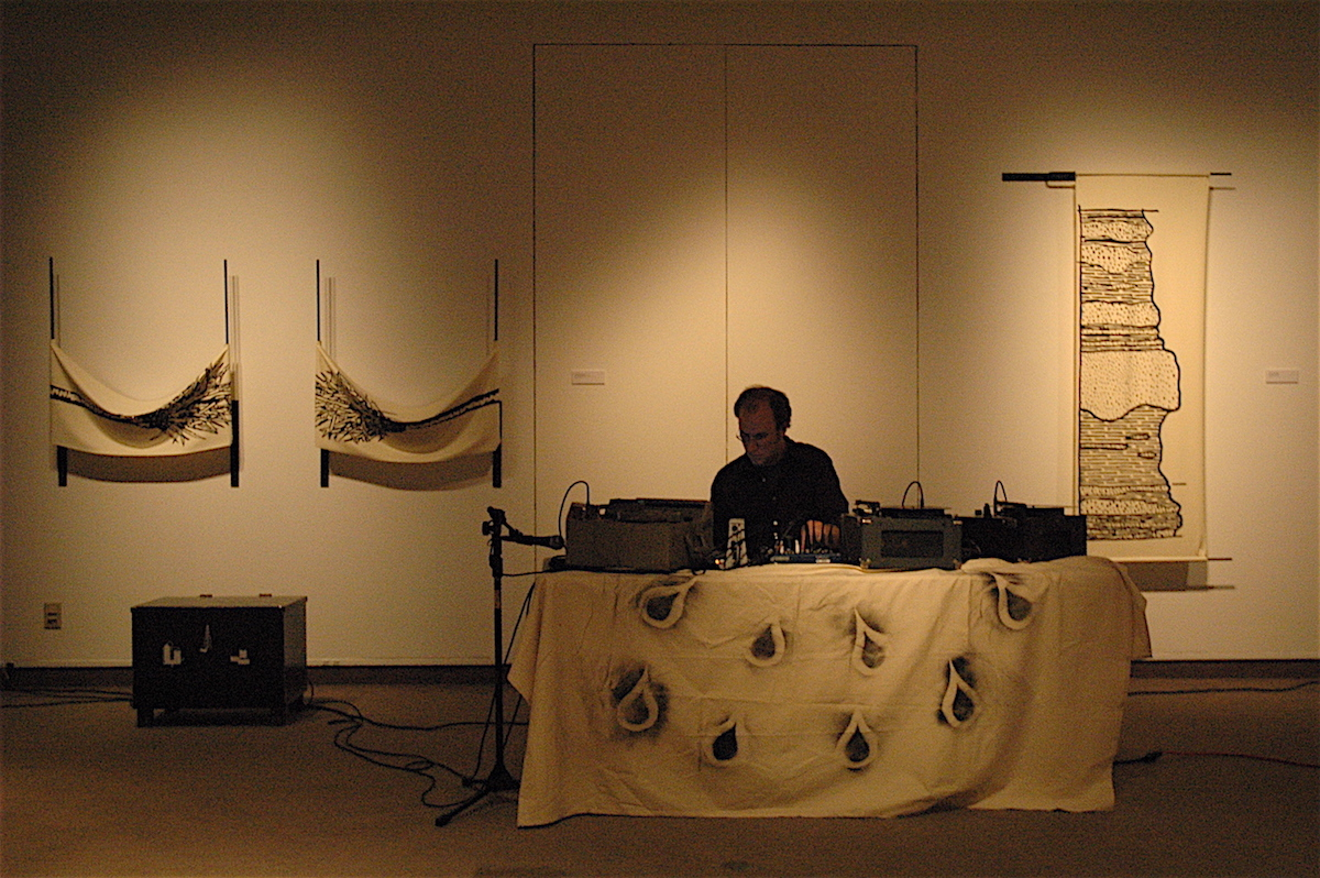 Live performance at the University of Northern Iowa, 2006.