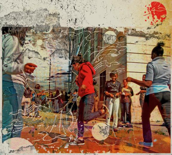 Street Scene: A New Dimension , Damon Locks, 2010.