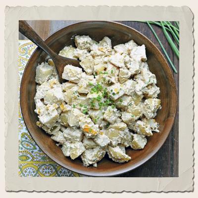 Potato Salad with Vegan Mayo