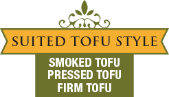 Suited Tofu Style - Smoked Tofu - Pressed Tofu - Firm Tofu