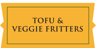 Tofu & Veggie Fritters