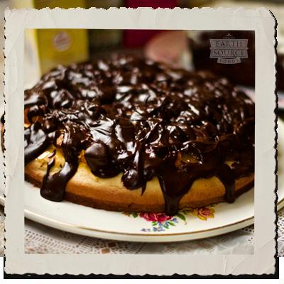 Tofu Jaffa 'Packet Mix' Cake