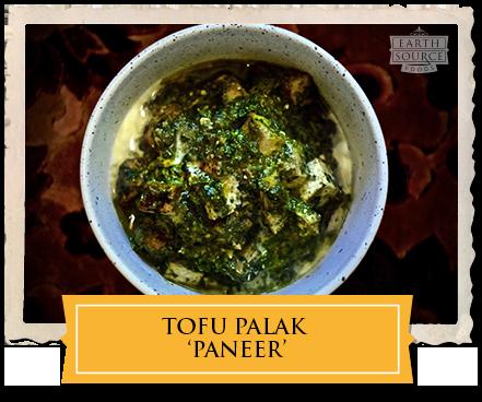 Tofu Palak 'Paneer'