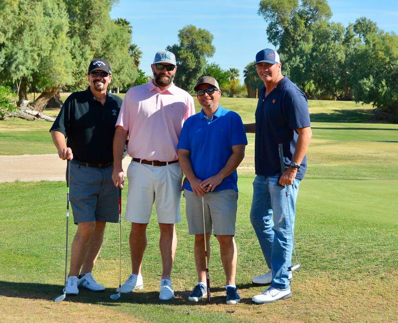 Team Vessey: Mark Allegranza, Jeremy Tucker, Jack Vessey & Bartt Ries