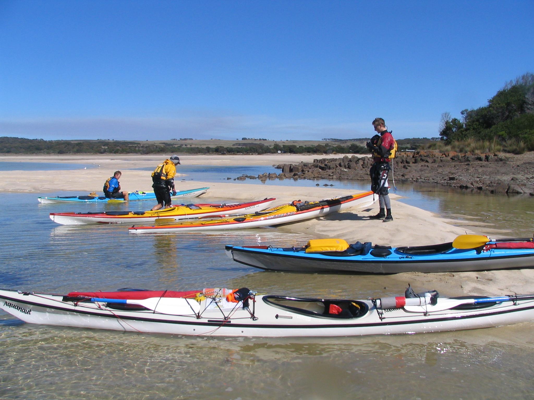 Arriving Little Musselroe Bay