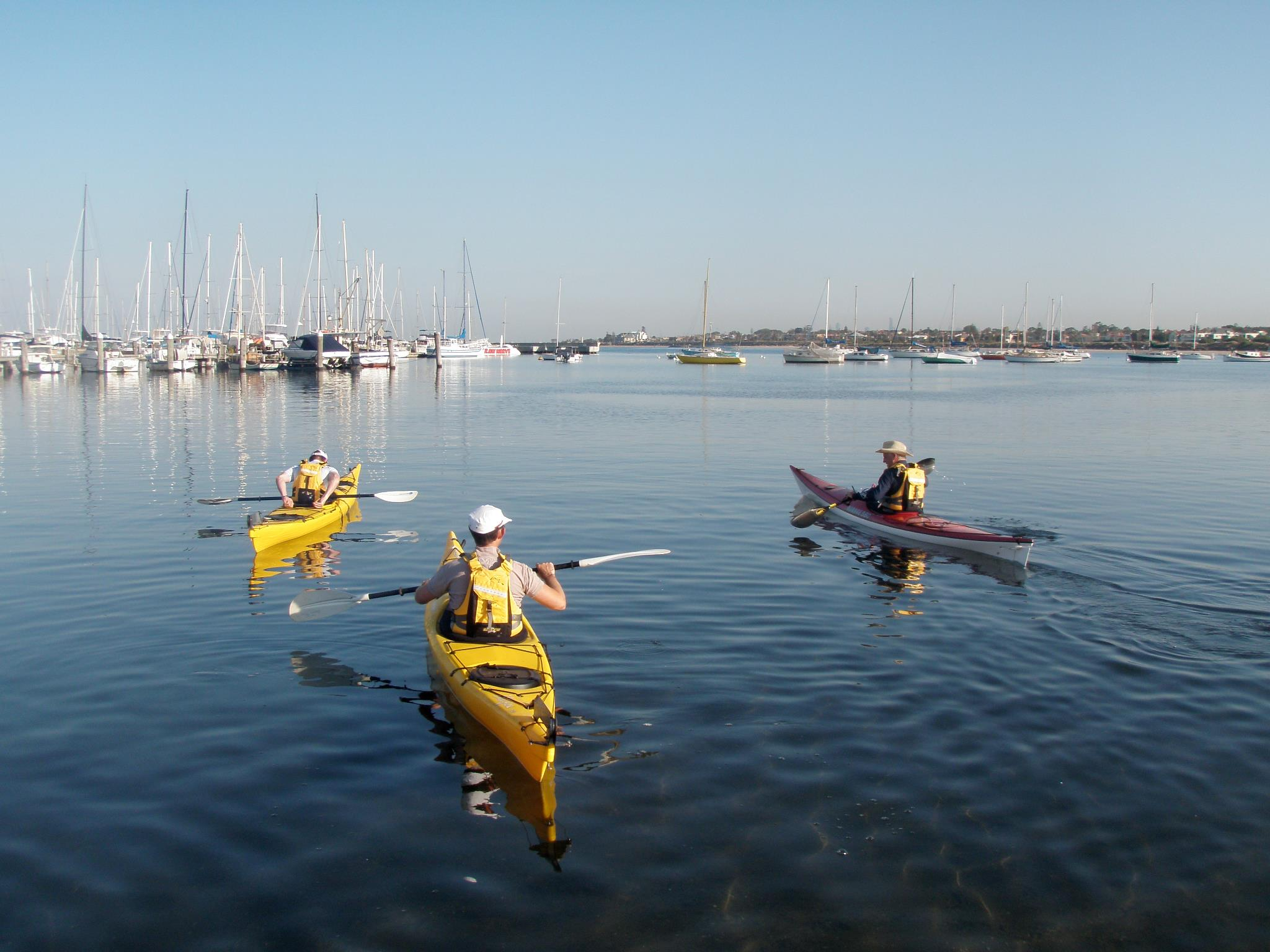 Plastic and Fibreglass Sea Kayaks