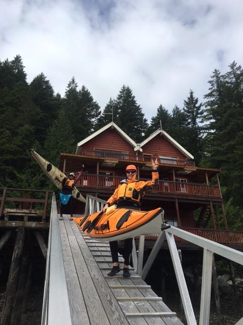 Discovery Islands Lodge - Surge Narrows, Quadra Island, BC Canada - Let the fun Begin!