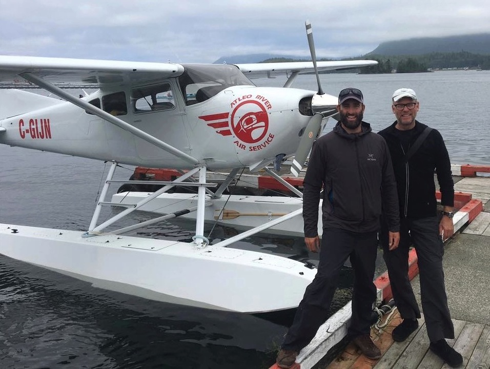 Heading out of Tofino for our last North American journey out into Clayoquot Sound Hot Springs Cove