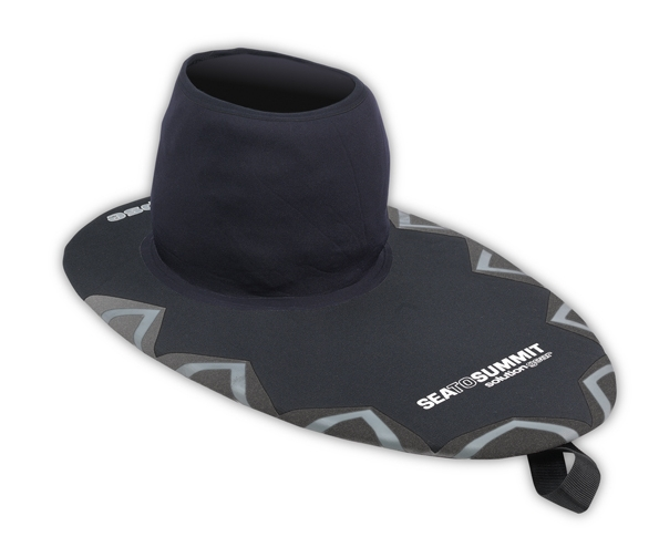 Sea to Summit Eclipse neoprene spraydecks in a range of deck and waist sizes. Flexifit and nylon (Neon) waist tubes available