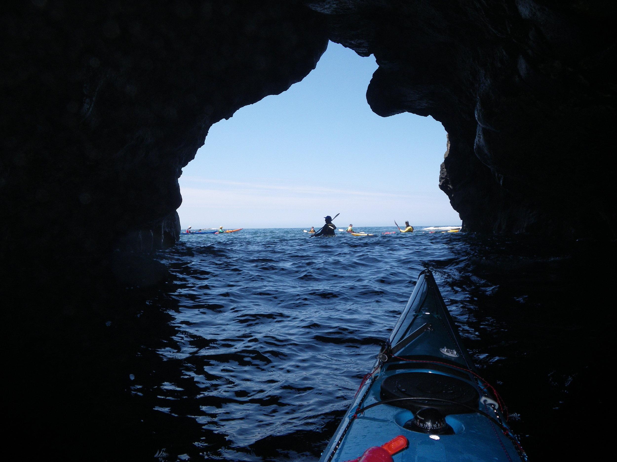 Sea caves Flinders coast