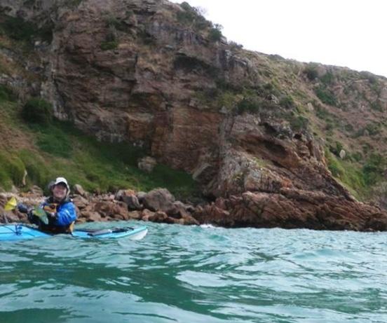 Cliffs near Cape Woolamai