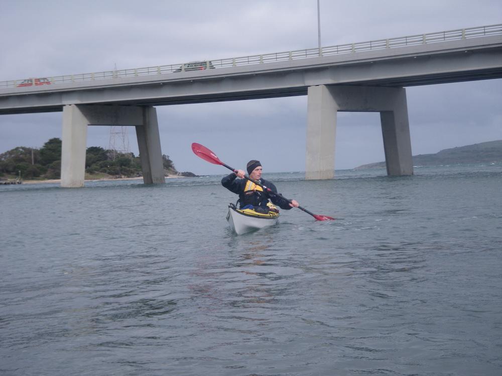 San Remo bridge tide streams