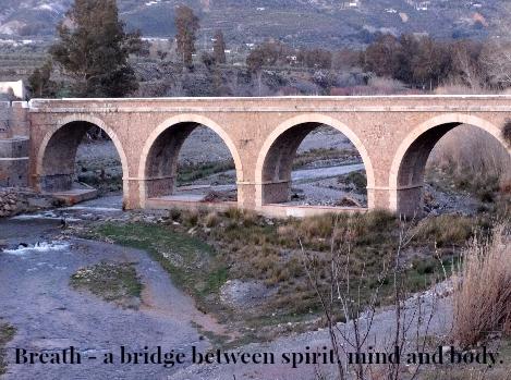 Breath - a bridge between spirit mind and body