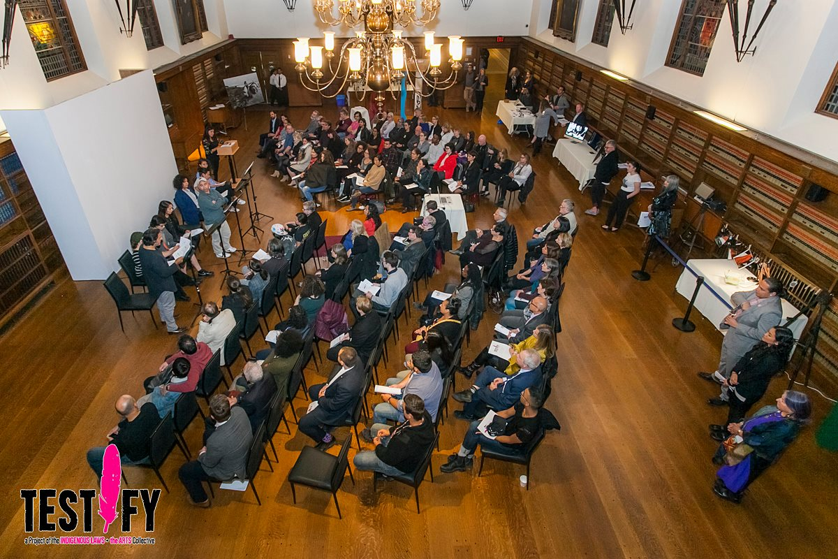 Stage reading, Law Society of Upper Canada, Toronto, 2017