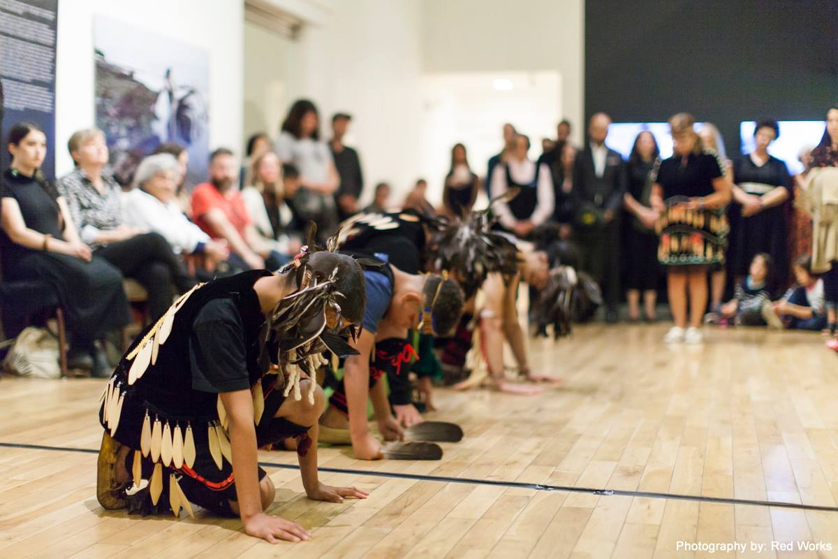 Opening ceremony, UVIC Legacy Gallery, 2018