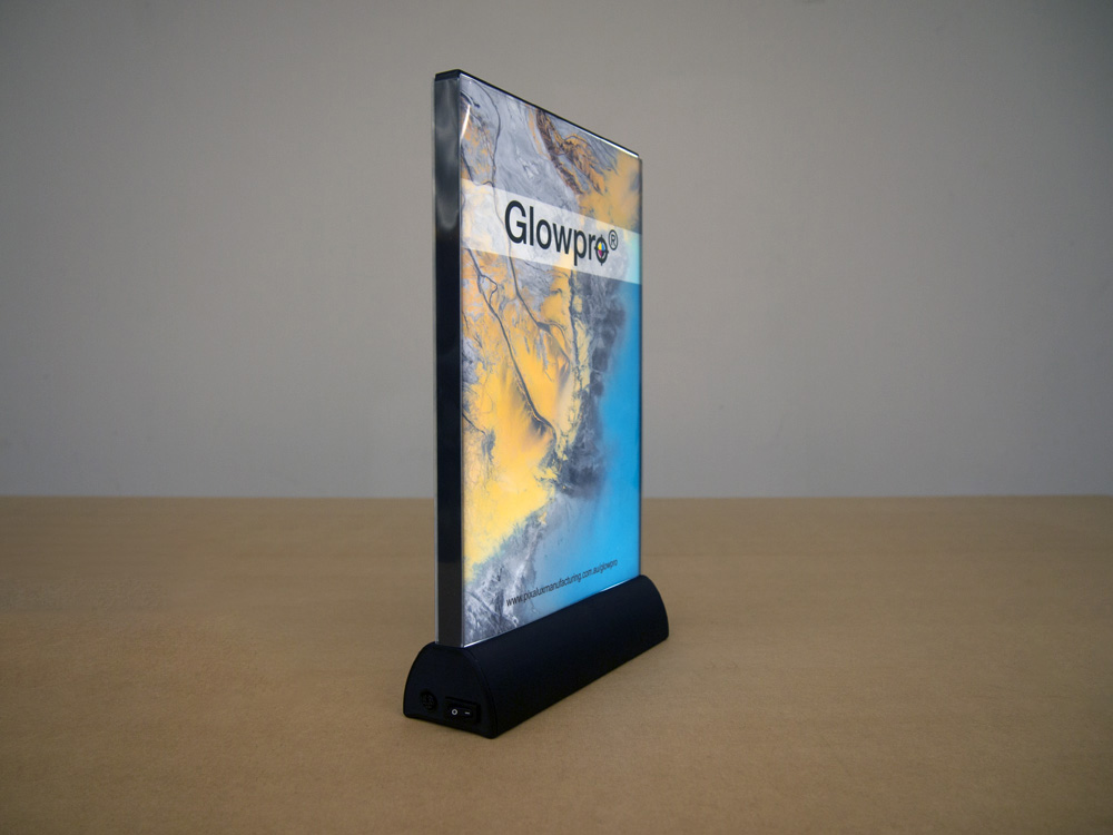 Fully assembled battery Glowpro®.