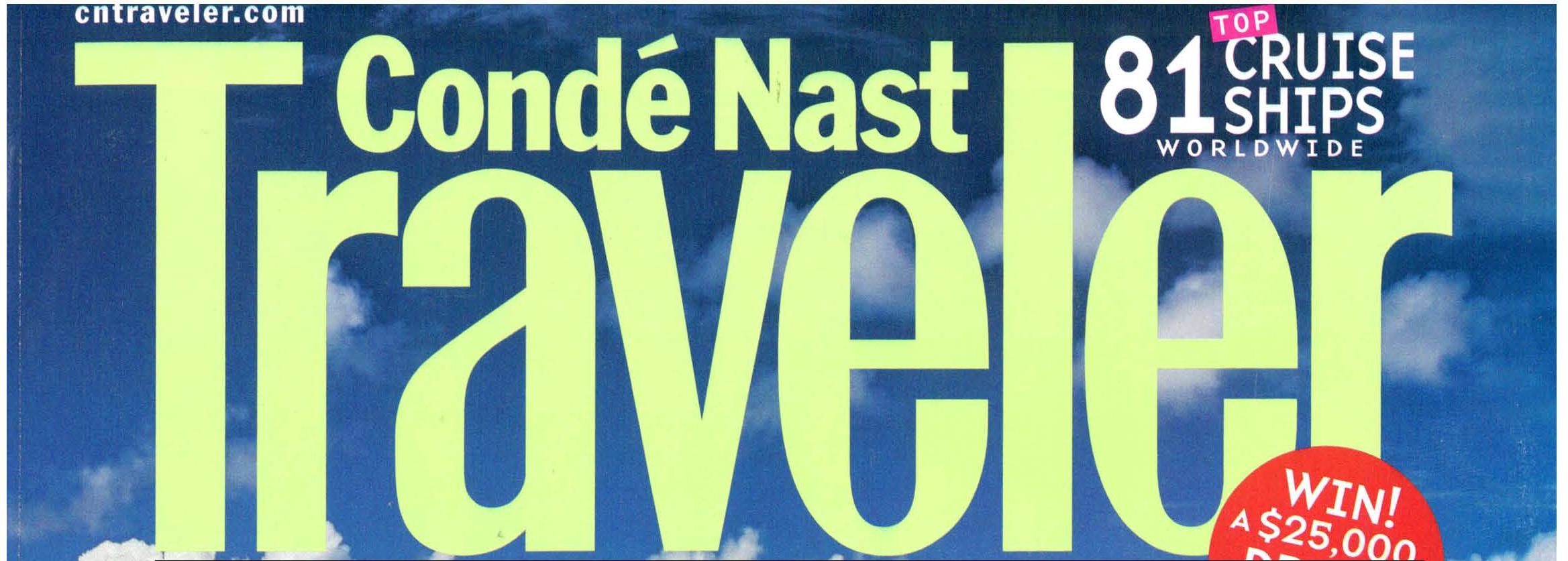 Conde Nast Traveler,  Mark Gaier, Clark Frasier,
