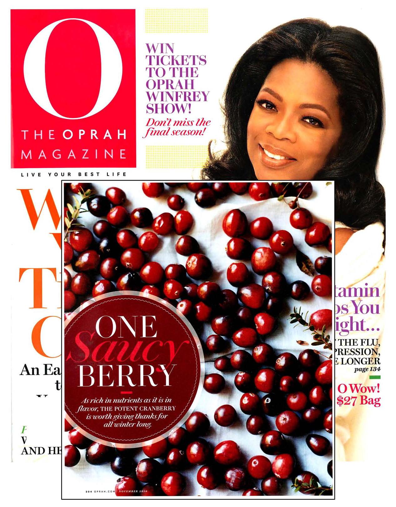 Oprah Cranberries Arrows Restaurant Mark Gaier Clark Frasier Ogunquit,ME