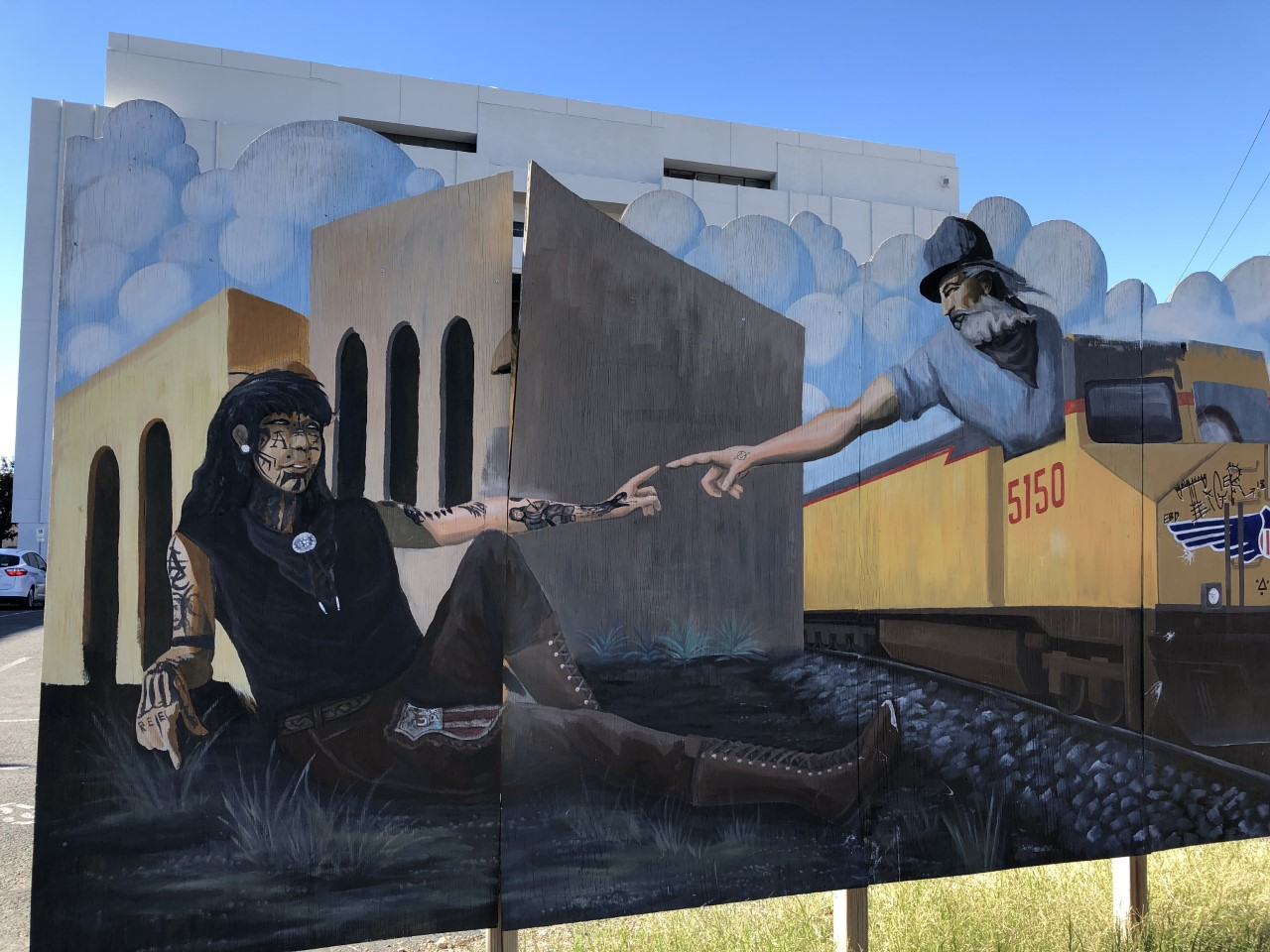 Downtown Tucson wall mural
