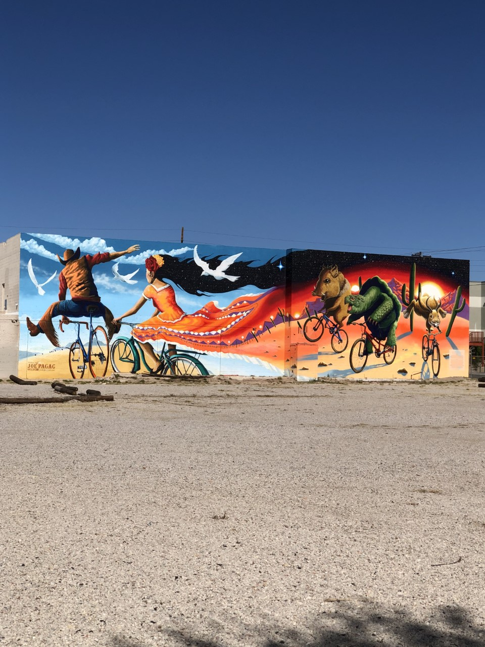 Downtown Tucson wall mural