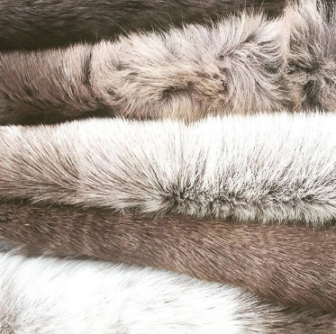 SCANDINAVIAN REINDEER HIDES BY BURROW & HIDE