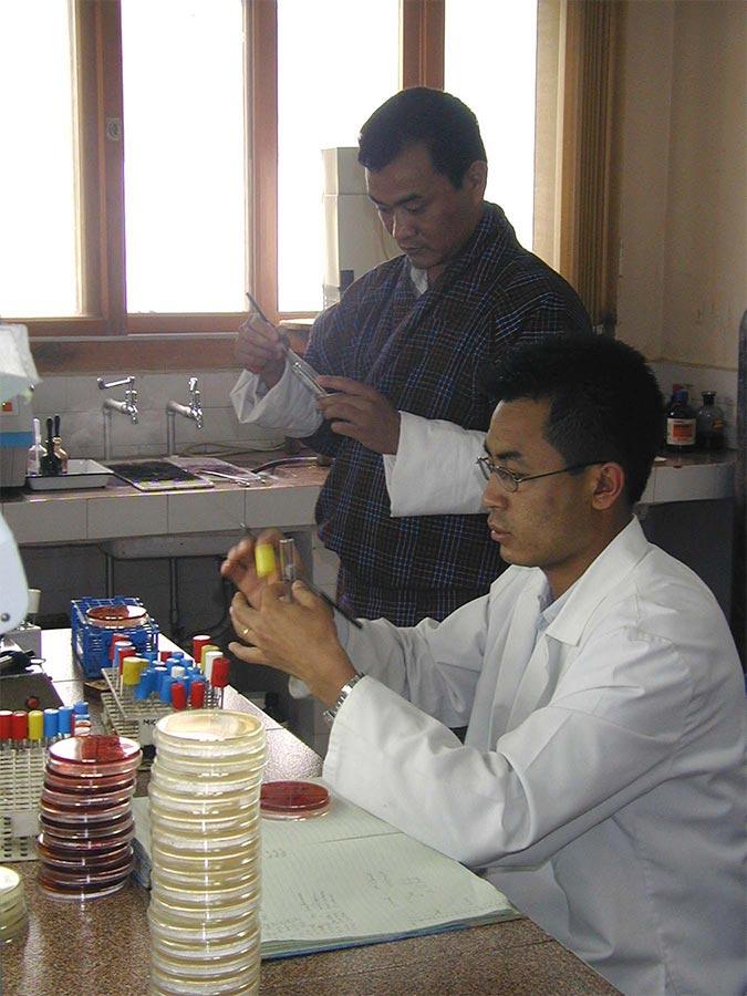 Bhutan Microbiology Lab.jpg