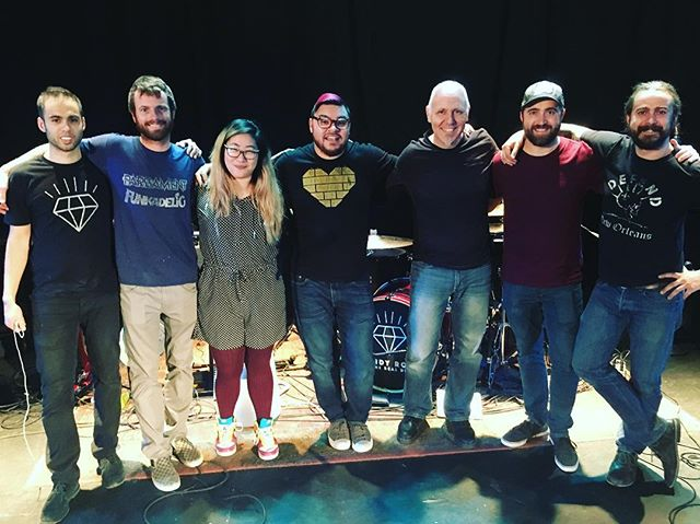 Had a great session last week with @blissblissmusic working on our live show. Great team over at @onstagesuccess! #cantwaittorokthisweek
