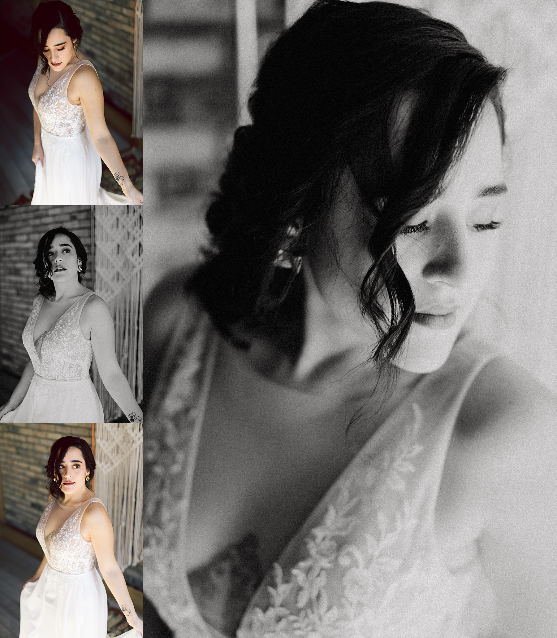 Florals:  Willow Design  / Dress:  Miss Ruby Boutique  / Macrame:  Wannabe West Coast  / MUA:  Kelly Schubel  / Hairstyling: @rachelmarietillman