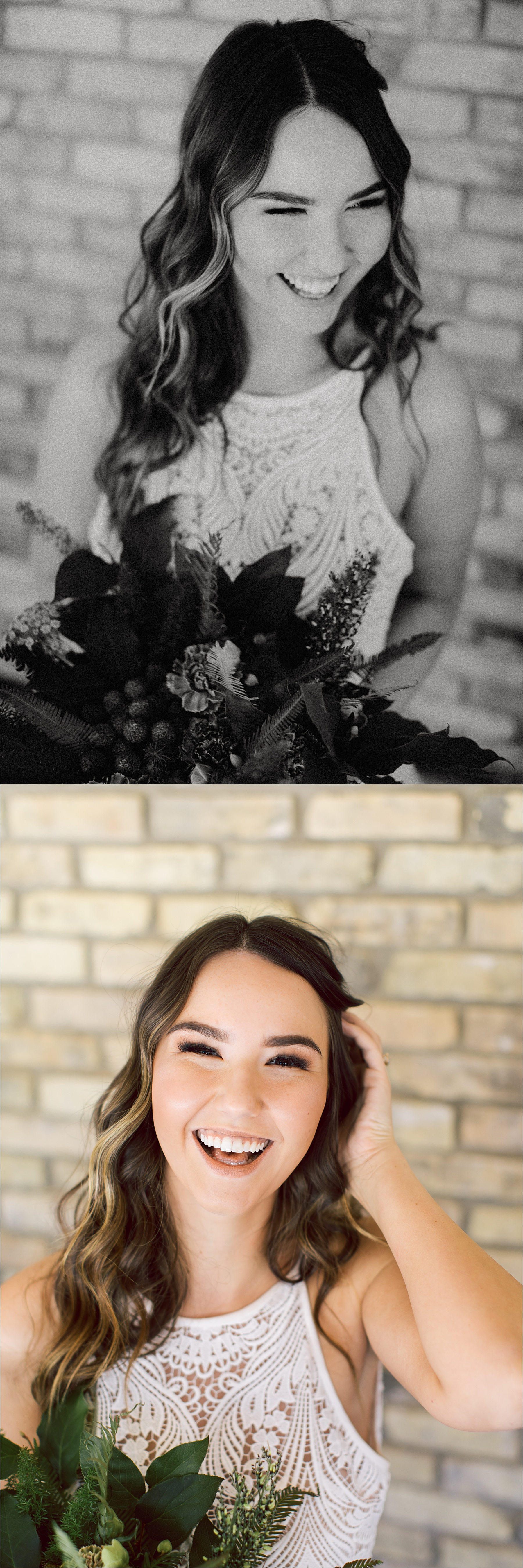 Florals:  Wed and Willow  / Dress:  Miss Ruby Bridal Boutique  / MUA:  Kelly Schubel  / Hairstyling:  Alysce Marie