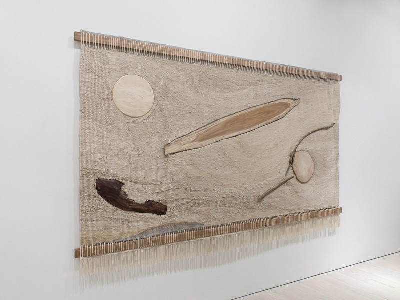 The Waves In The Breeze, 2015, at SAATCHI Gallery, London.