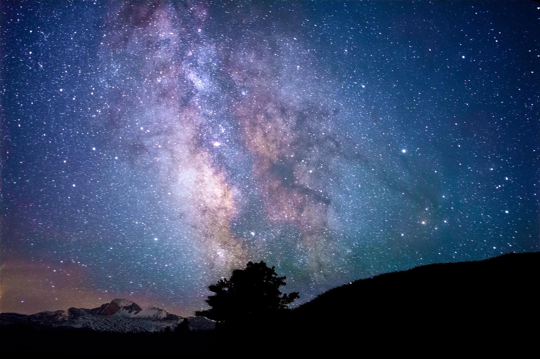 Figure 1 Stars over Rocky Mountain National Park, US. Photo by Jeremy Thomas on Unsplash