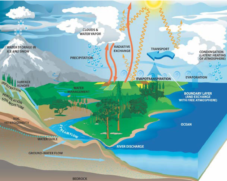 Figure 2 Water Cycle. Sagar Purnima