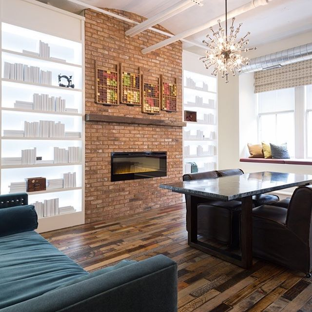 We lead the interior design aspects of this project@ LIBRARY LOFTS in Chicago, unearthing the history of the place with the intent to tell it's story- a book bindery at the turn of the Century. ⠀ ⠀ #librarylofts  #oldbookbindery #avaconsultants,⠀ #printersrowchicago ⠀ ⠀