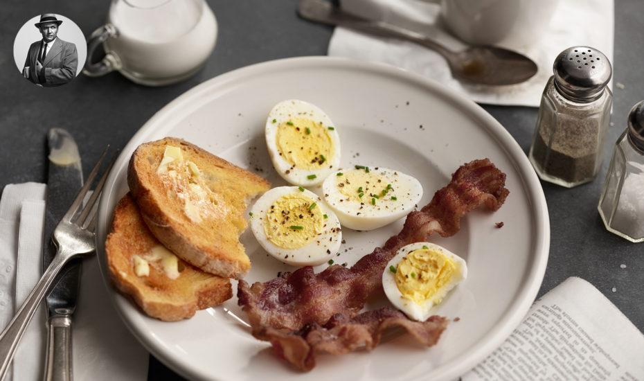 Detective's Hard-boiled eggs