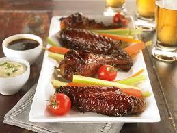 Korean BBQ Turkey Wings