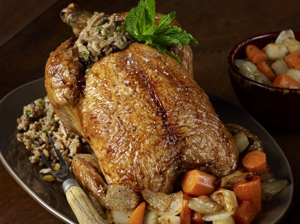 Middle Eastern Roasted Chicken