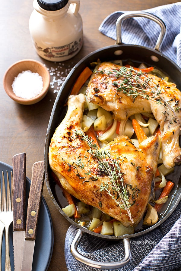 Maple Roast Chicken