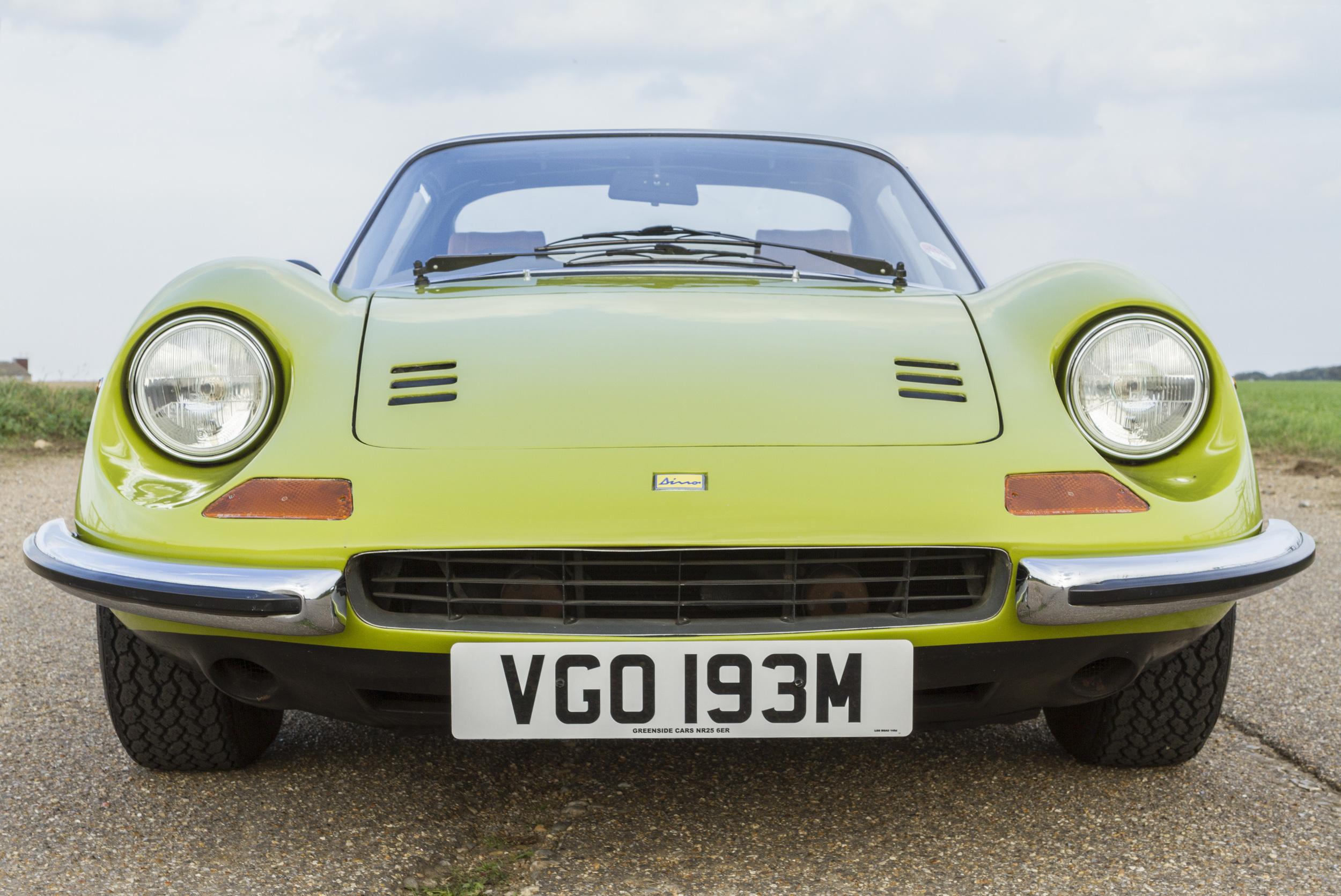 !975 Ferrari 246 gts in Verde Germigolio!