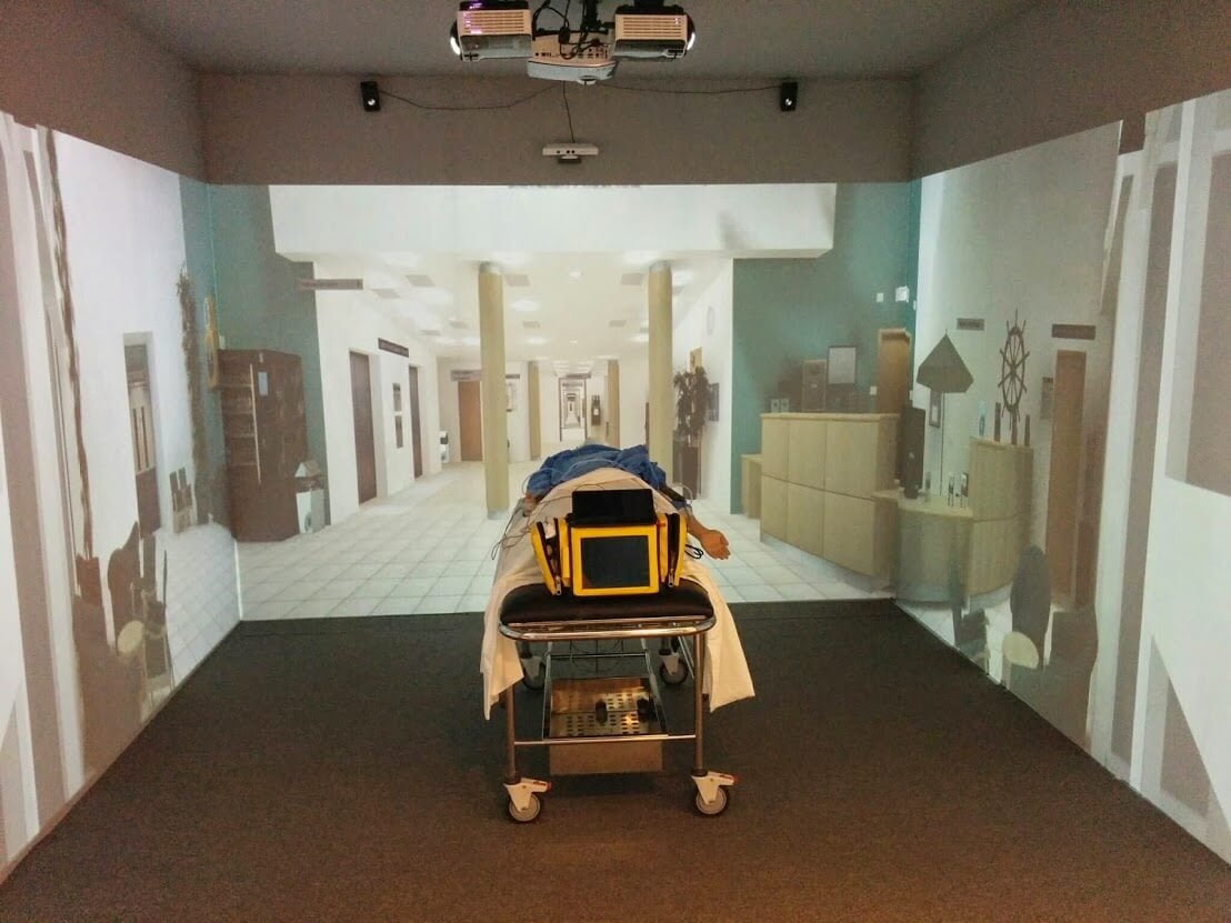 From the Ambulance to the Ward  - You can even experience moving through a busy hospital with an interactive video simulation.