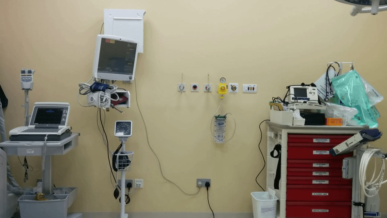 OPERATING ROOM OR CASUALTY BAY
