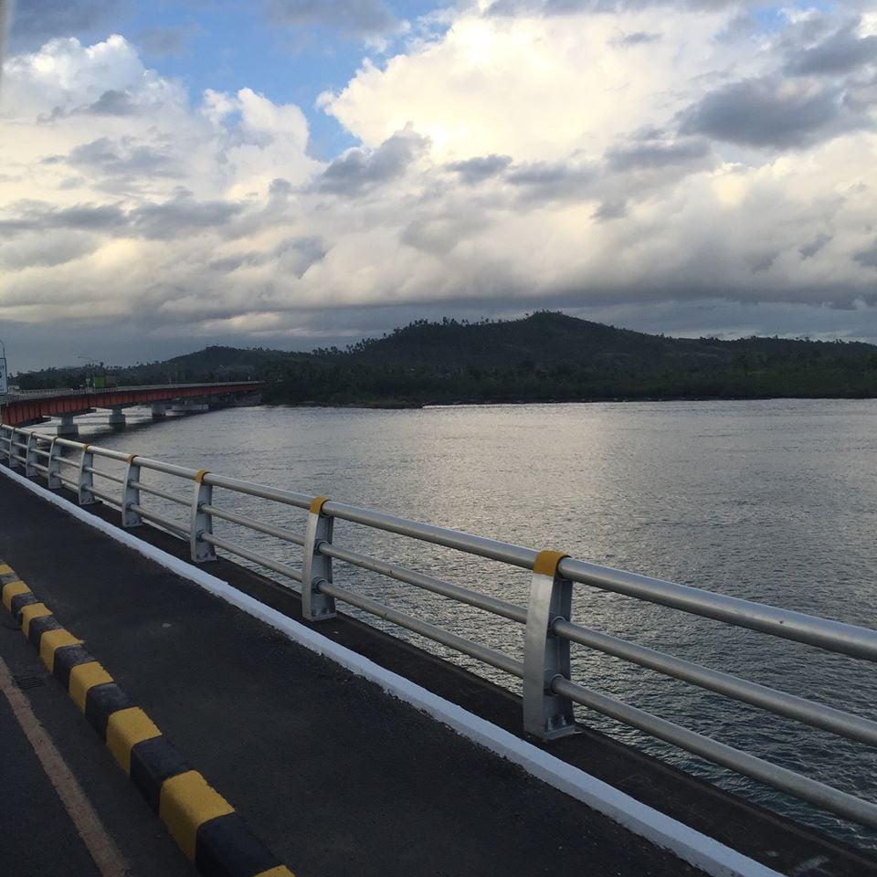 San Juanico Bridge in between Samar and Leyte