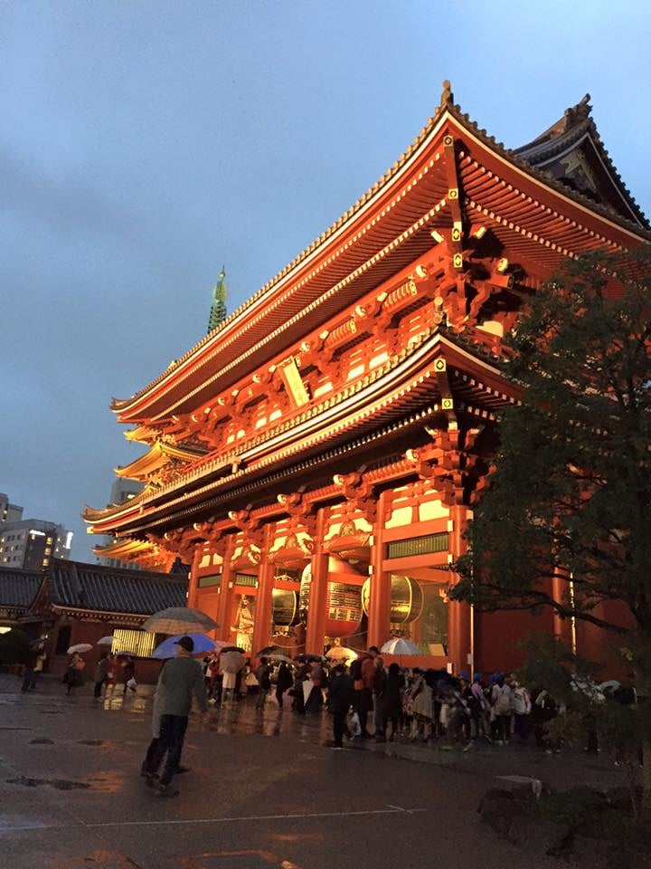Senso-ji Temple is a must-see according to travel blogs. And they were right.