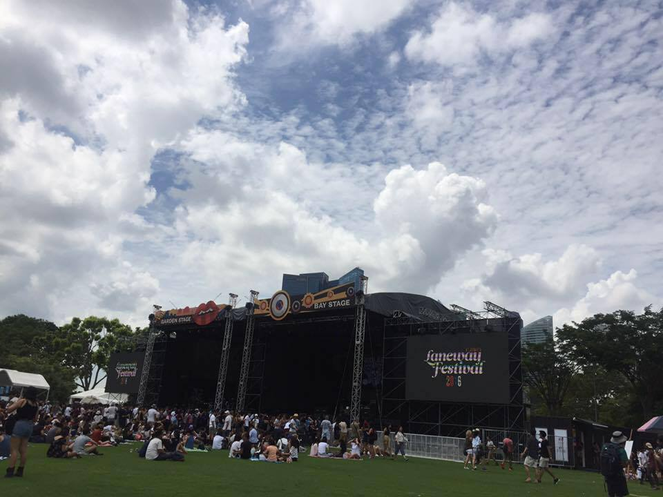My first ever music festival and it had to be Laneway :)
