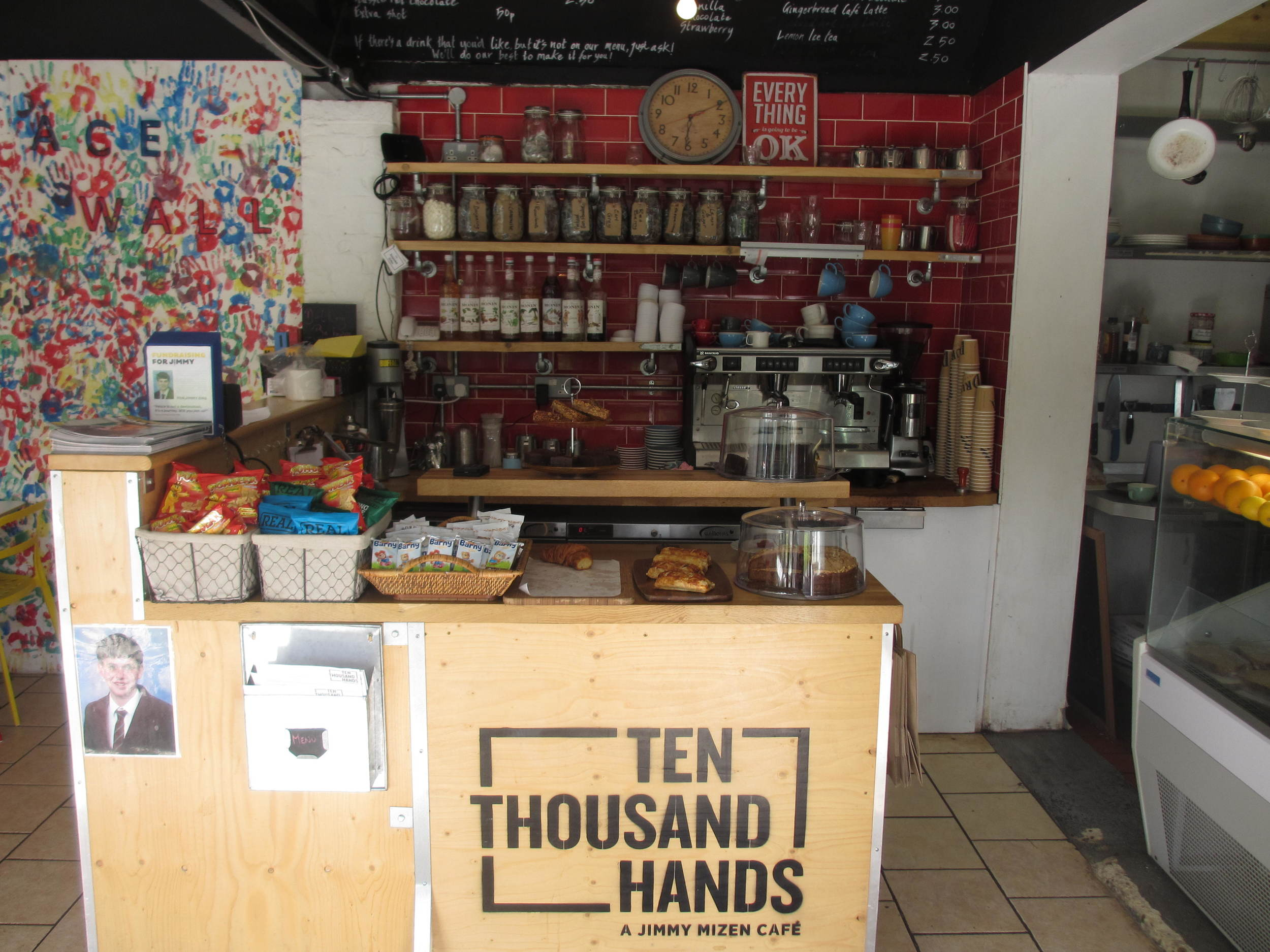 Ten Thousand Hands Lewisham Card
