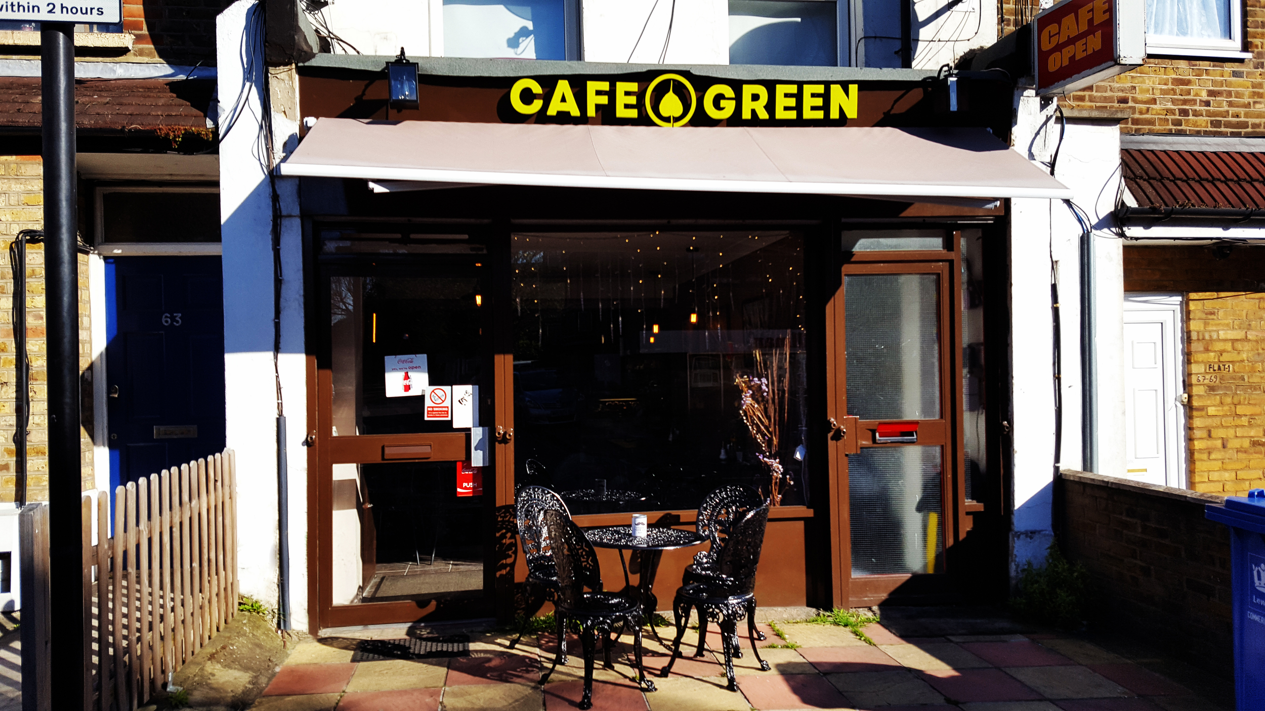 Cafe Green Lewisham Card