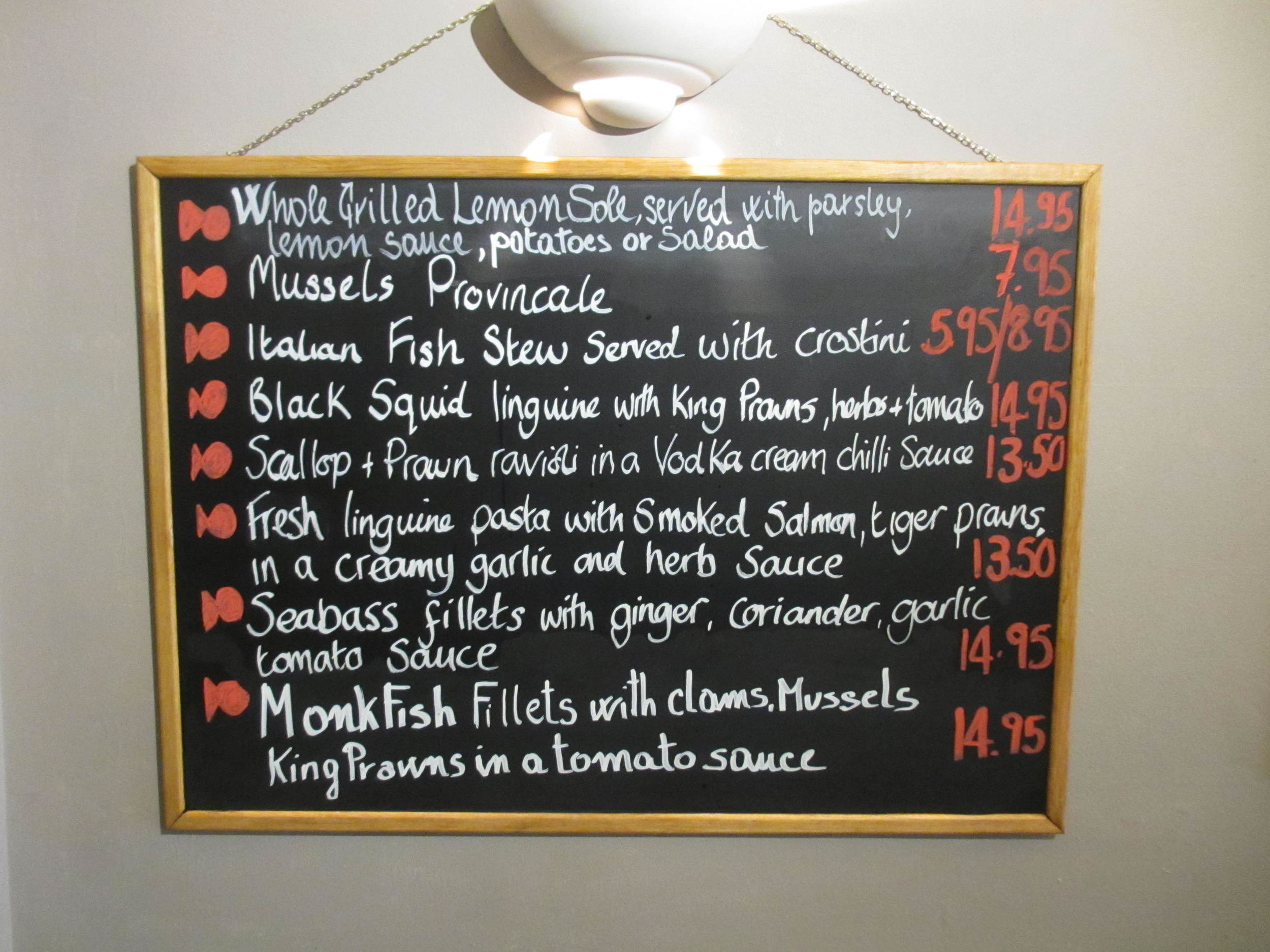 Lewisham Card La Pizzeria Italiana