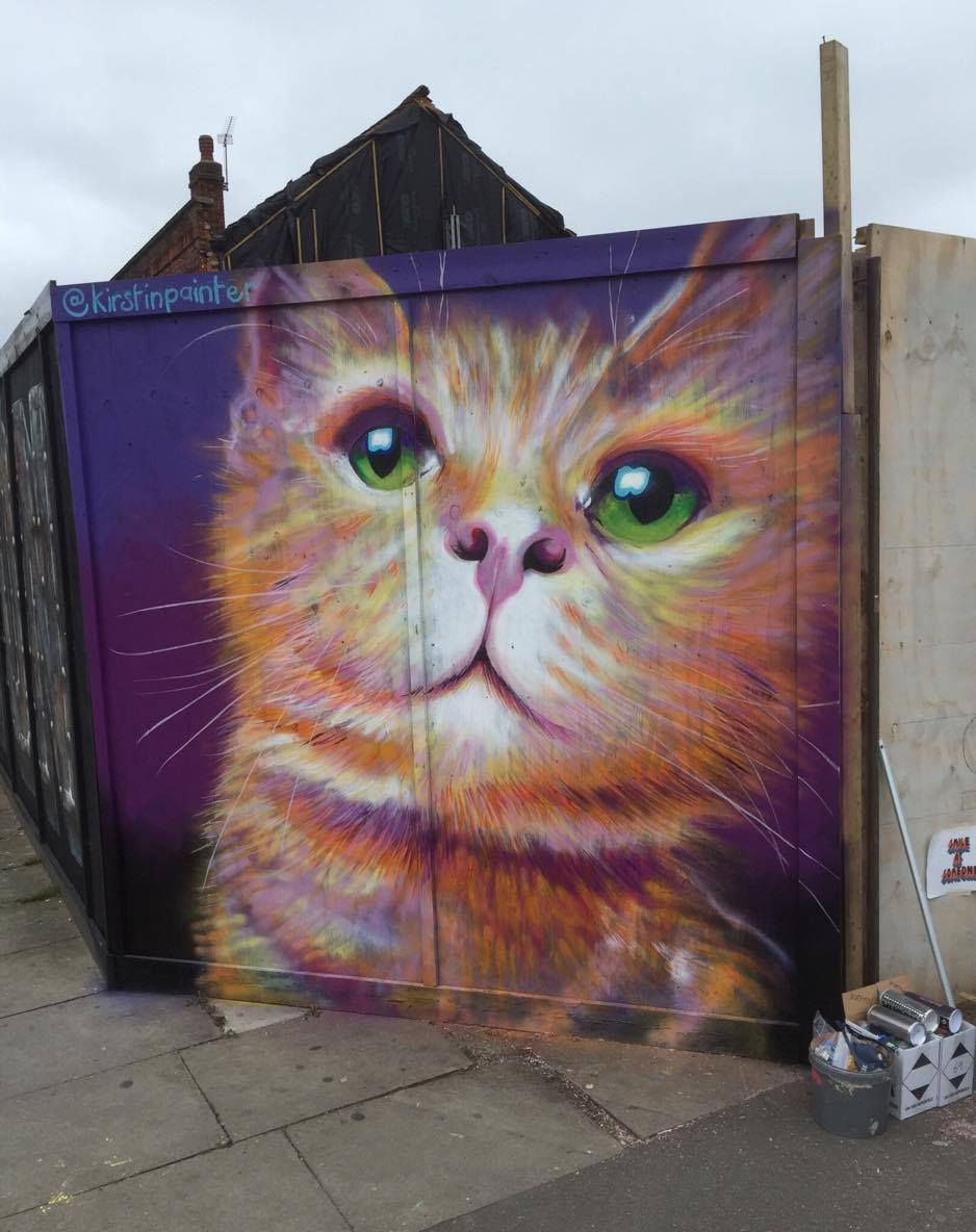 Lewisham Card Brockley Street Art Festival