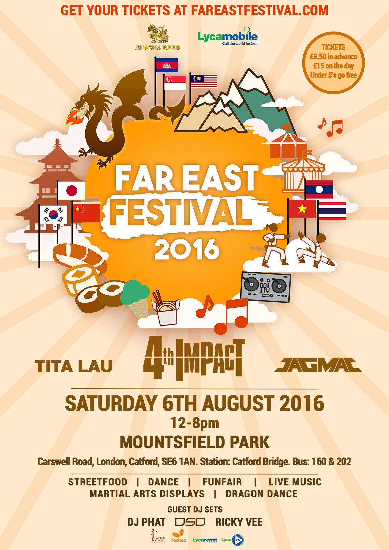 Far East Festival Lewisham Card